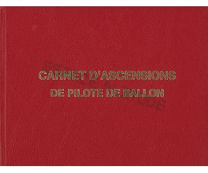 Carnet de vol ascension ballon